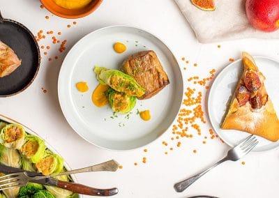 ételfotozás-3 fogásos menü