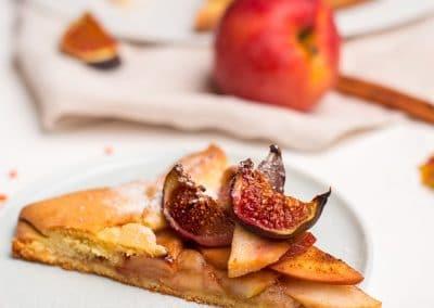 ételfotozás-almás nyitott pite