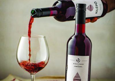 Termékfotózás árak - Pino Pince -Kilépő-bor